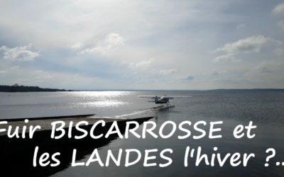 De passage à Biscarrosse l'hiver !
