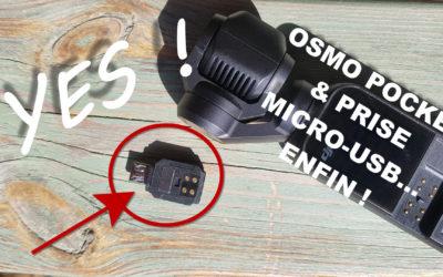 Osmo Pocket & prise Micro-USB : Enfin un VRAI adaptateur pour les smartphones Androïd en Micro-USB !